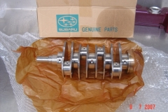Genuine SUBARU crankshafts
