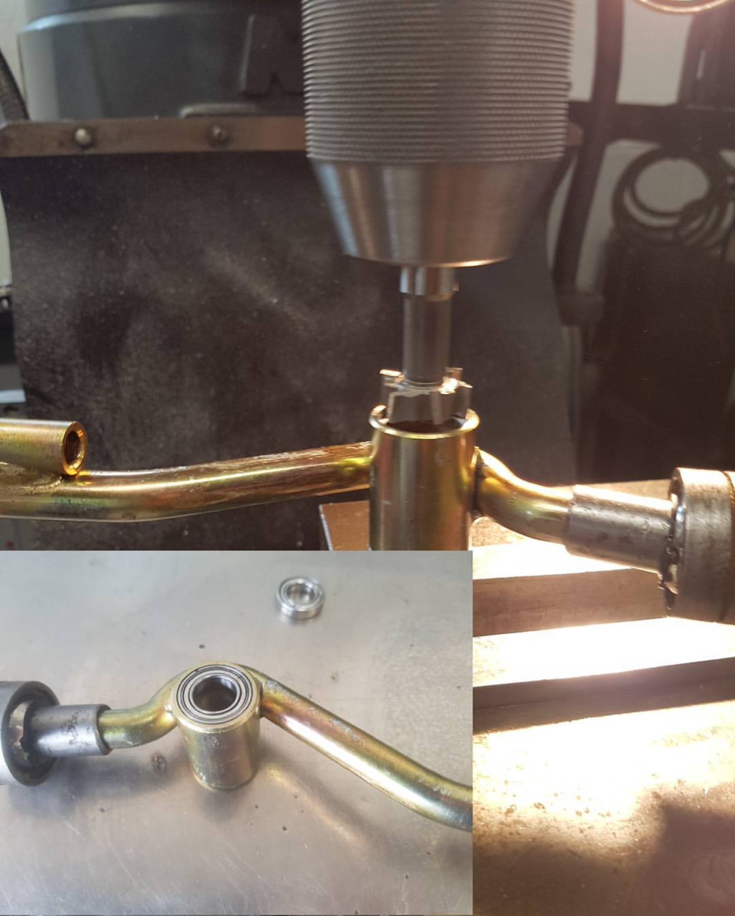 gear stick bearing machining